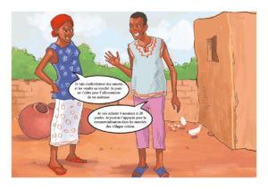 La pubblicazione, distribuita ai produttori dalle organizzazioni contadine sensibilizza sull'importanza della partecipazione delle donne.